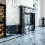 Salon - Nero Marquina, Viscount White1